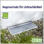 Regenschutzabdeckung für Kellerschacht