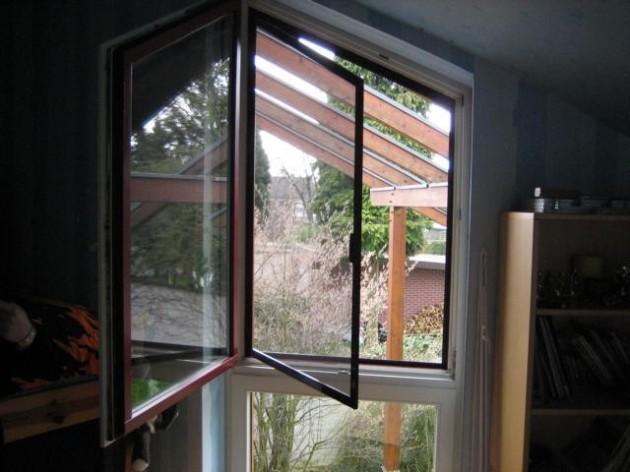 Insektenschutz Drehfenster Sonderform