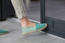 Fußbedienung für Schiebetüren