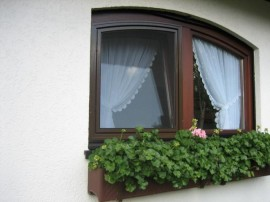 Insektenschutz Drehfenster Stichbogen
